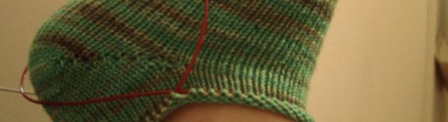 green sock!