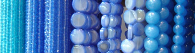 blue beads