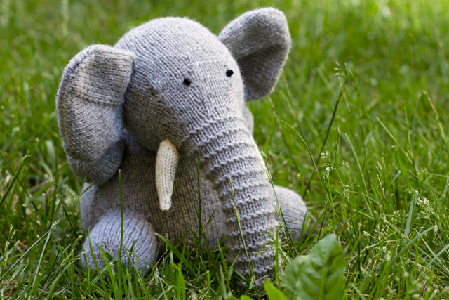 elephant! pepperknit