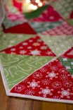 hexagonal christmas tree skirt