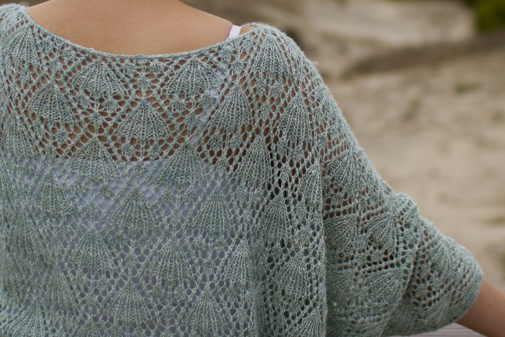 Lace Sweater Knitting Pattern : lace pepperknit