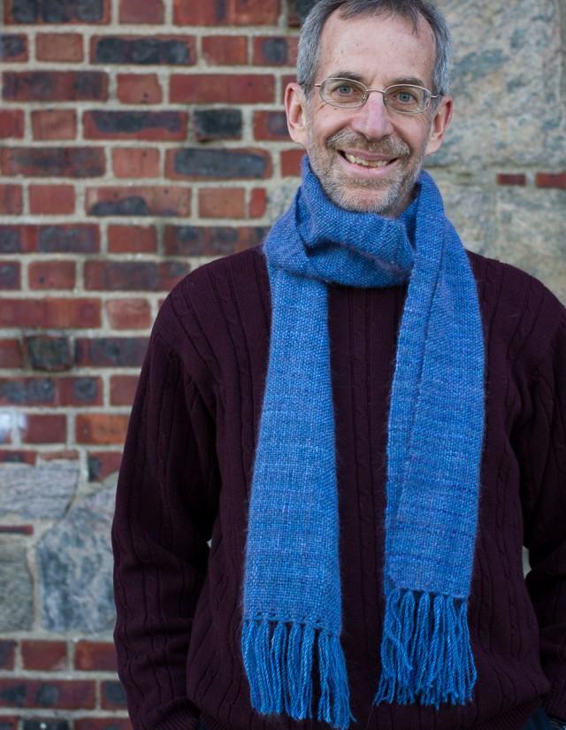 plain weave scarf