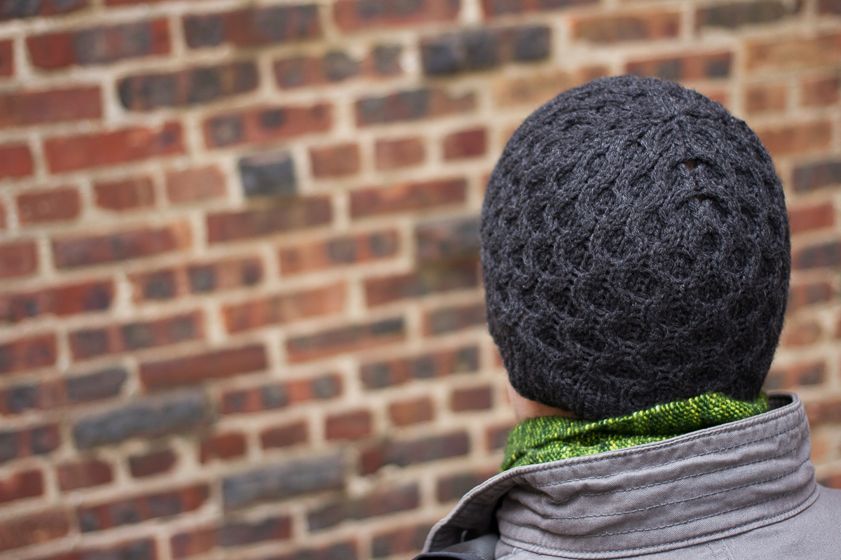honeycomb hat for jason | pepperknit