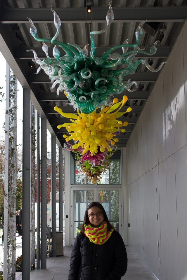 neon cowl and chihuly
