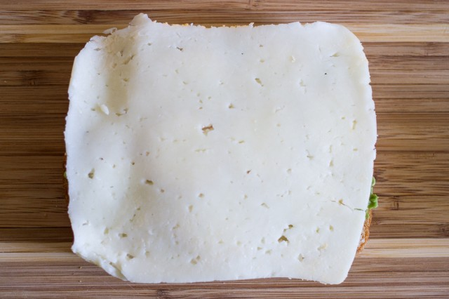 3. a slice of havarti cheese