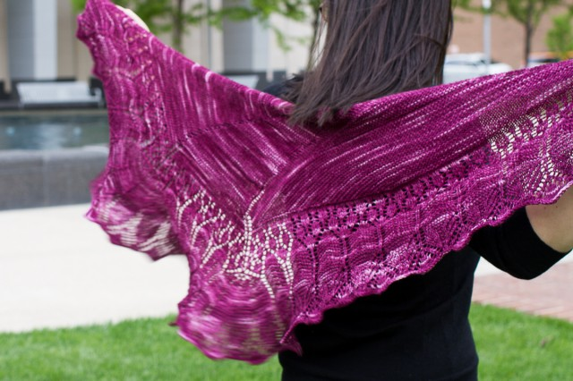 follow your arrow shawl