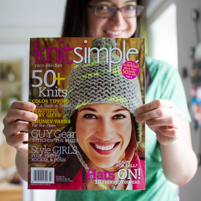 knit simple cover