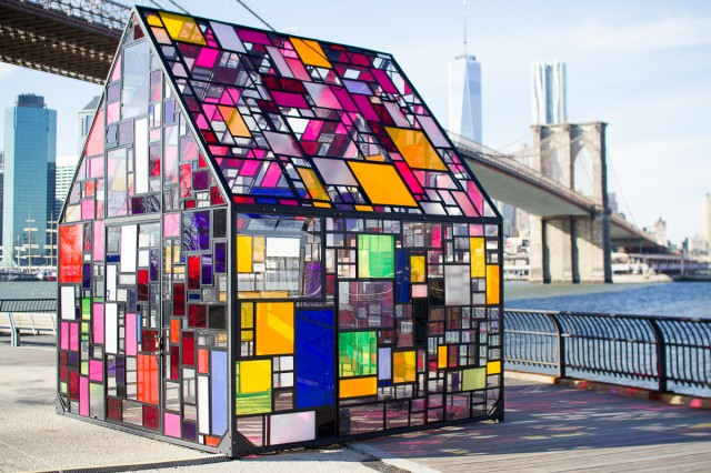 Tom Fruin Stained Glass House