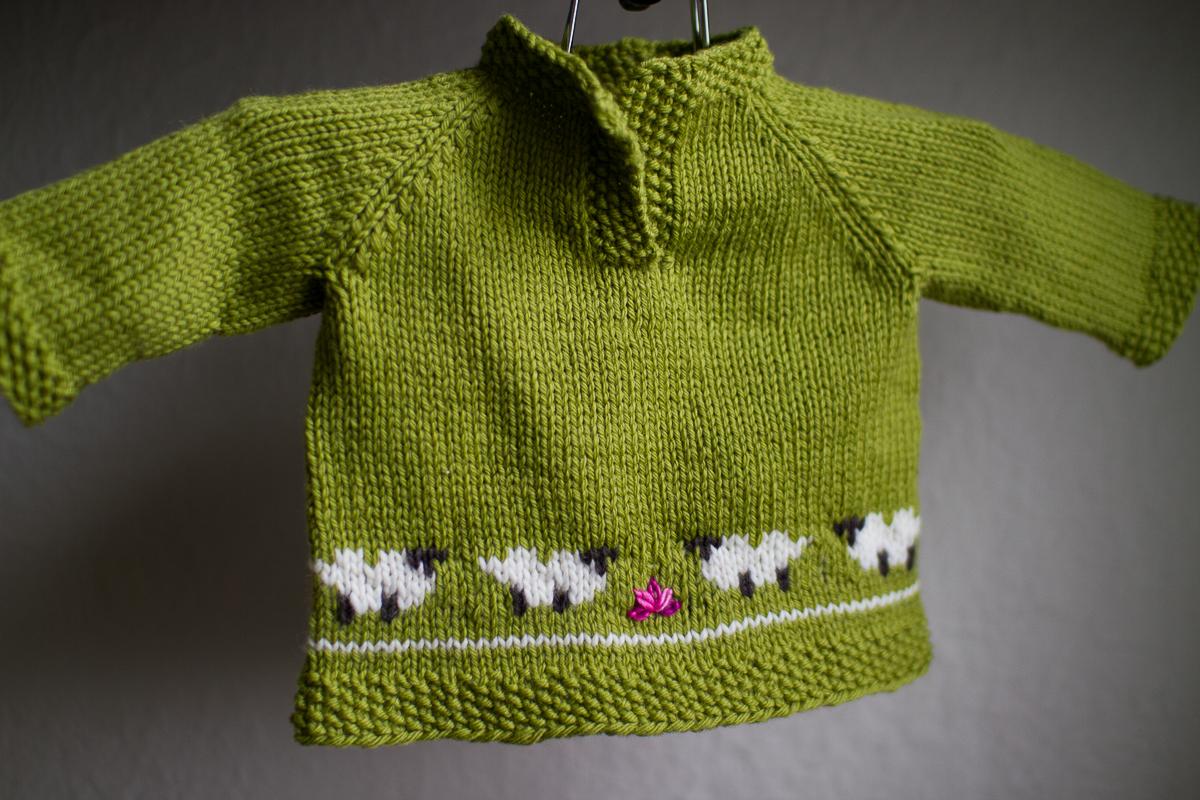 Sheep Knitting A Sweater : Knit sweater pattern crumpet sheep vest