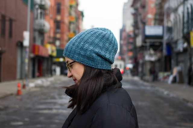 pepperknit | garter rib hat