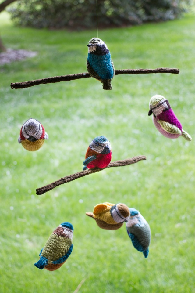 pepperknit | knit bird mobile -- group project