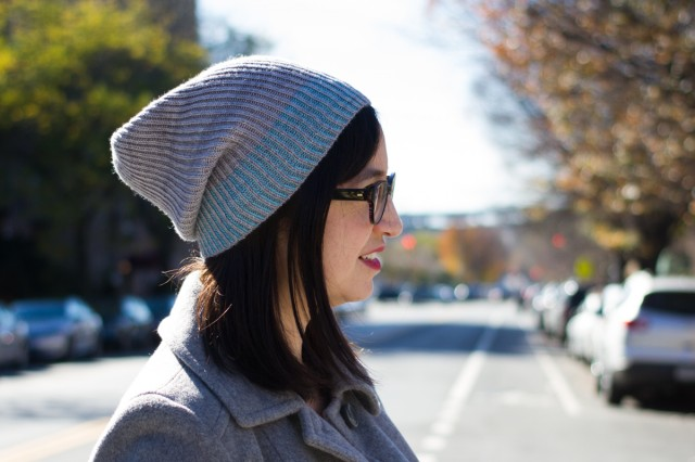 pepperknit | color dipped hat