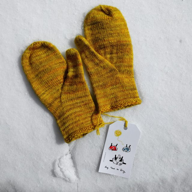 arched gusset mittens from purl soho | pepperknit