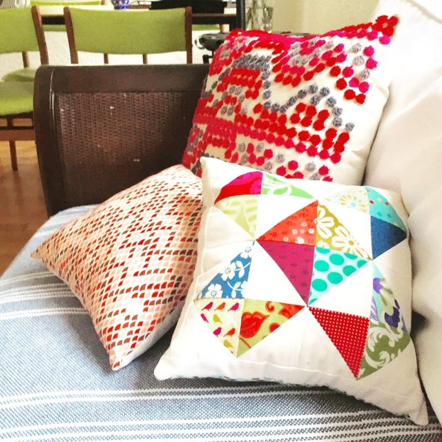 housewarming pillows | pepperknit